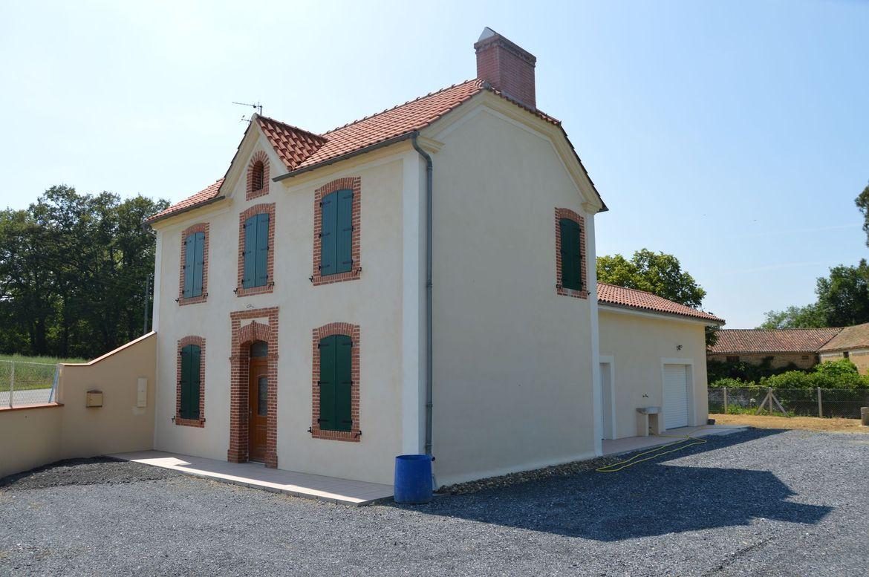 Restauration et extension d 39 une maison vidouze for Restauration maison